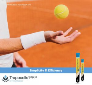 Tropocells® PRP – Gold Standard in PRP Separation Technology.