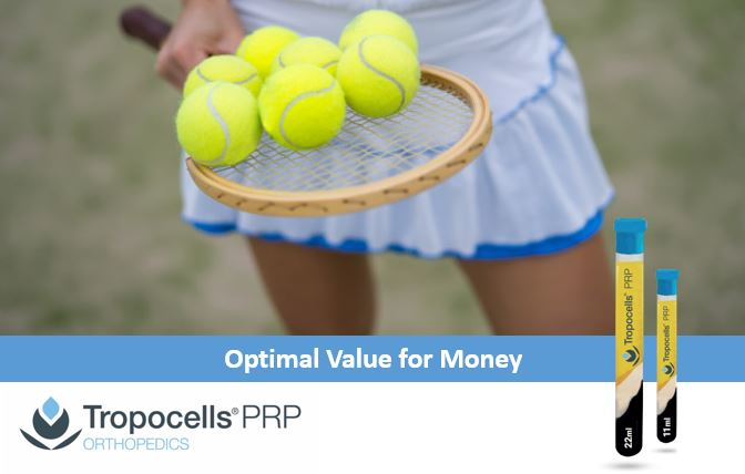 Tropocells® PRP: a Cost Effective PRP System